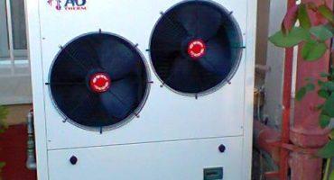 Τοποθέτηση αντλίας θερμότητας στα Κουφάλια Θεσσαλονίκης