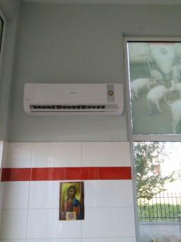 Κλιματιστικό σε κρεωπολείο