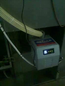 Καυστήρας πέλλετ σε περιστροφικό φούρνο