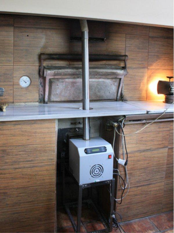 Μετατροπή σε ξυλόφουρνο αρτοιποιλιας σε πελλετ με καυστήρα SP OVEN 100