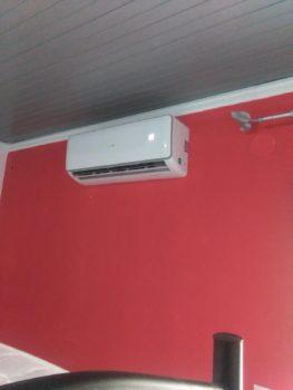 Κλιματιστικό μηχάνημα στη Λεπτοκαρυά