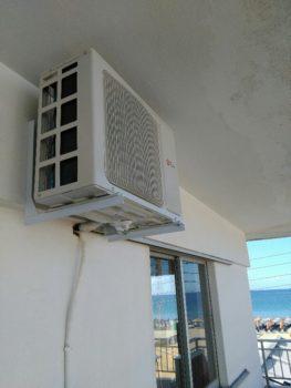 Εγκατάσταση κλιματιστικού στους Πόρους Πιερίας
