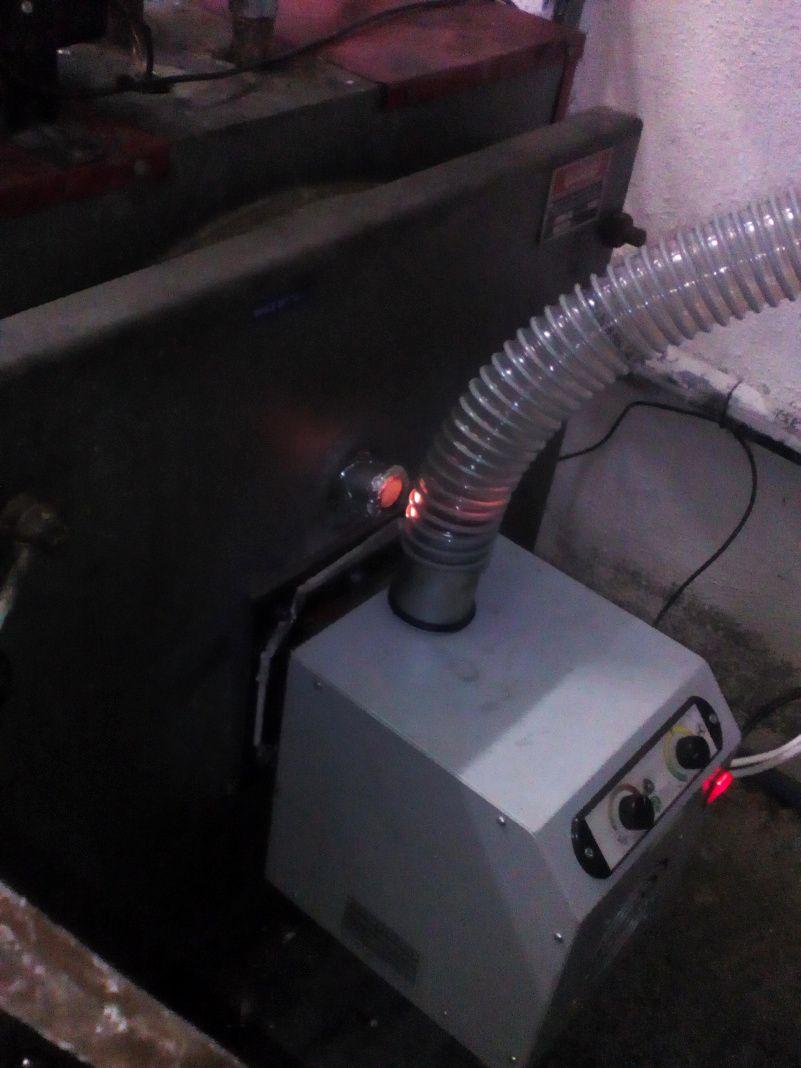 Μετατροπή σε χαλύβδινο λέβητα πετρελαίου ΤΡΙΘΕΡΜ με καυστήρα BECO