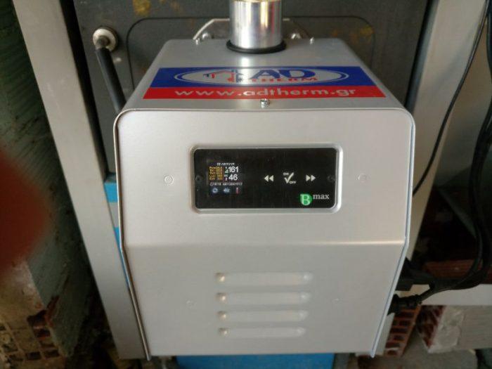Μετατροπή λέβητα πυρόλυσης ATMOS σε πελλετ με τον καυστήρα BMIX DIGITAL