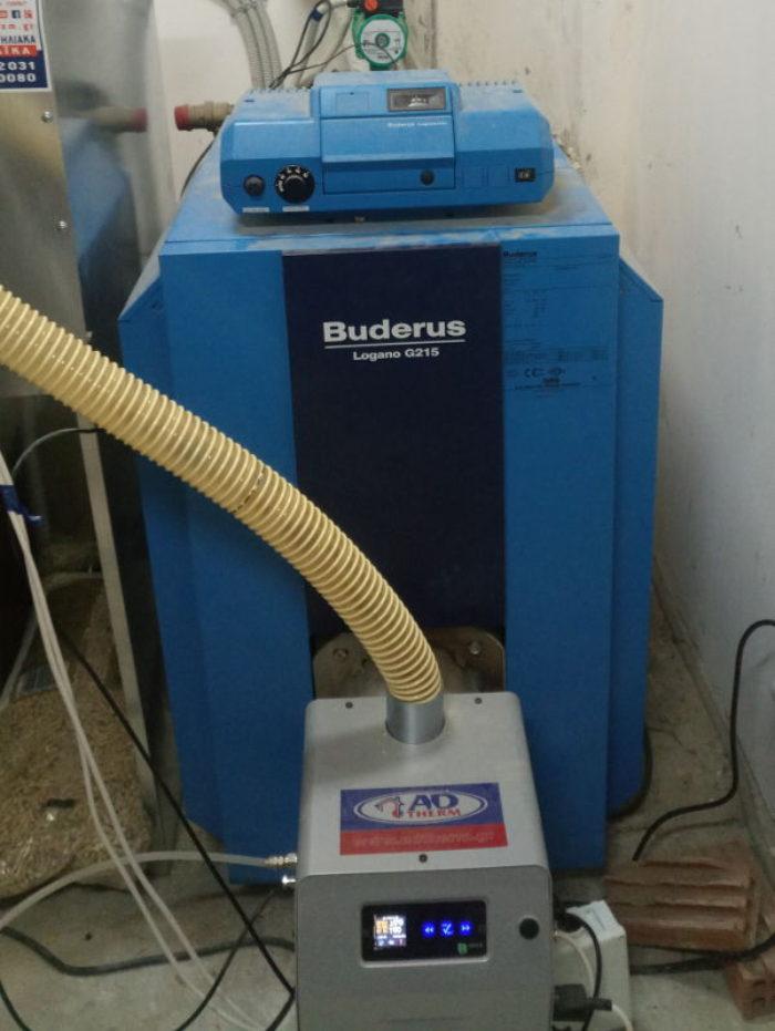 Μετατροπή σε λέβητα πετρελαίου BUDERUS LOGANO G215 στο Πικέρμι Αττικής
