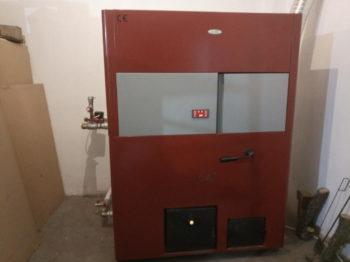 Εγκατάσταση Λέβητα πελλετ Toby 35kw στο Αιγίνιο Πιερίας