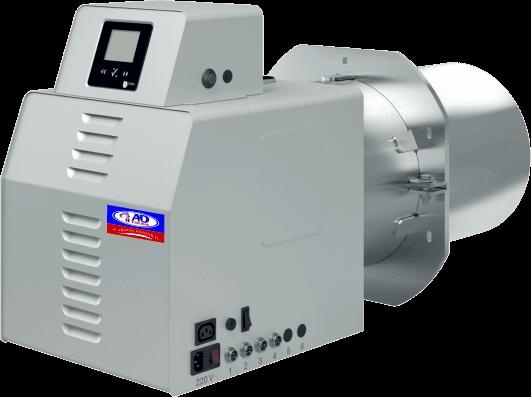 Σύγχρονοι Ιταλικοί καυστήρες πελλετ βιομάζας Bmix Digital OVEN 150kw