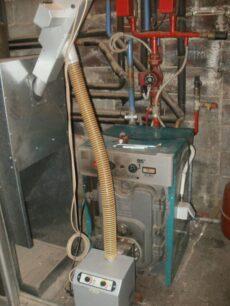 Μετατροπή σε λέβητα πετρελαίου ΚΑΖΗΣ με τον καυστήρα B-eco 35kw