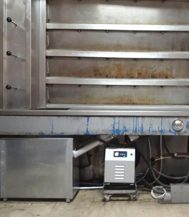 Καυστήρας πελλετ BMIX DIGITAL σε κυκλοθερμικό φούρνο αρτοποιΐας στο Αγρίνιο