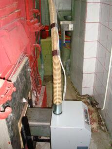 Εγκατάσταση καυστήρα SP OVEN σε χτιστό φούρνο αρτοποιίας στο Αγρίνιο