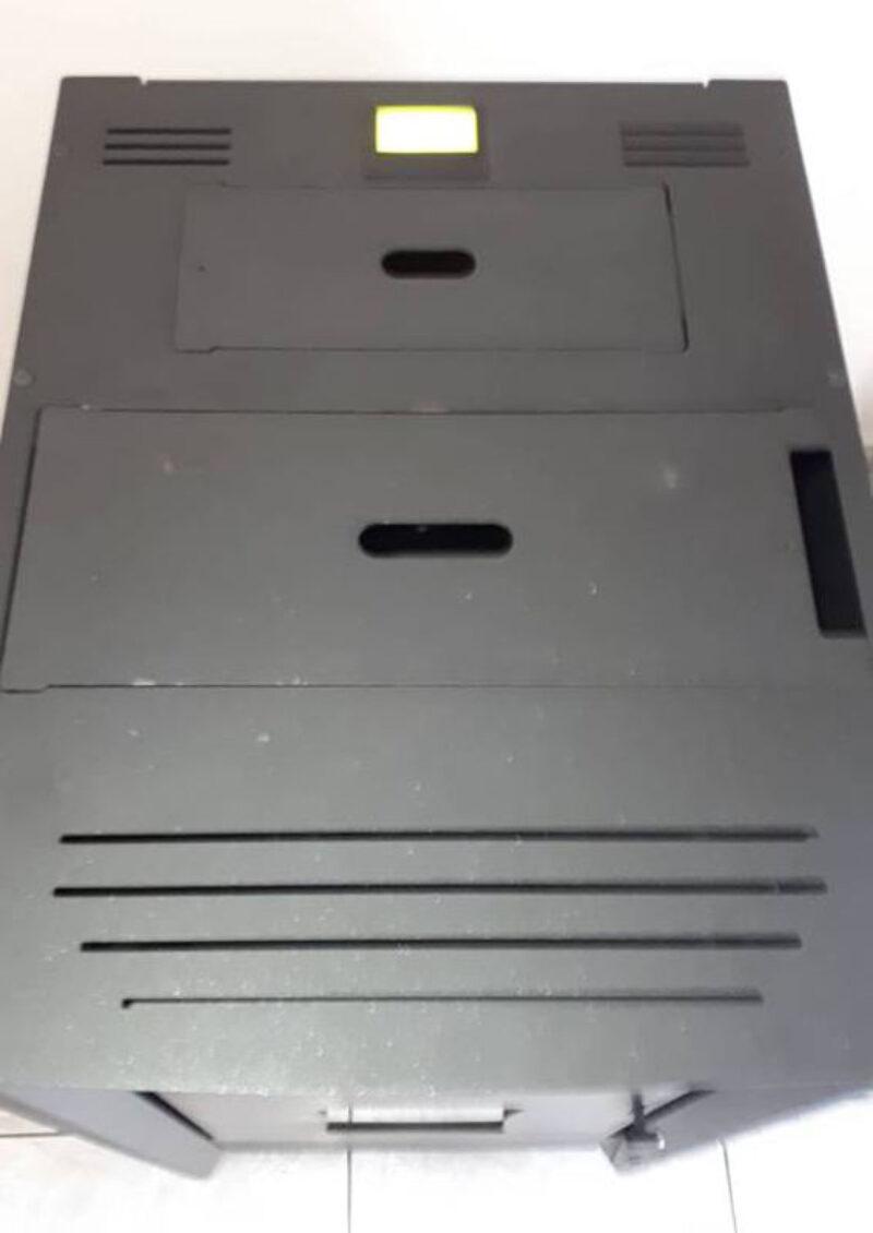 Εγκατάσταση αυτοκαθαριζόμενης σόμπας λέβητα πελλετ compact Toby 18kw στην Θάσο
