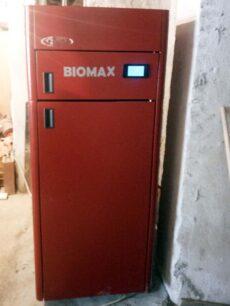 Λέβητας Πελλετ BIOMAX σε διαμέρισμα στην Βέροια
