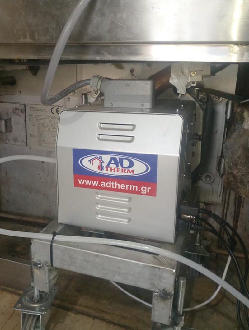 Mετατροπή με καυστήρα βιομάζας σε σωληνωτό φούρνο αρτοποιΐας στην Κέρκυρα