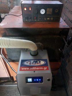 Μετατροπή Ιταλικού λέβητα πυρόλυσης EUROWARM σε πελλετ