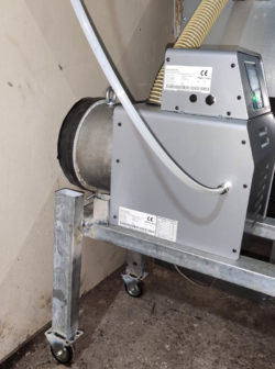 Μετατροπή αερολέβητα με καυστήρα πελλετ σε πτηνοτροφίο