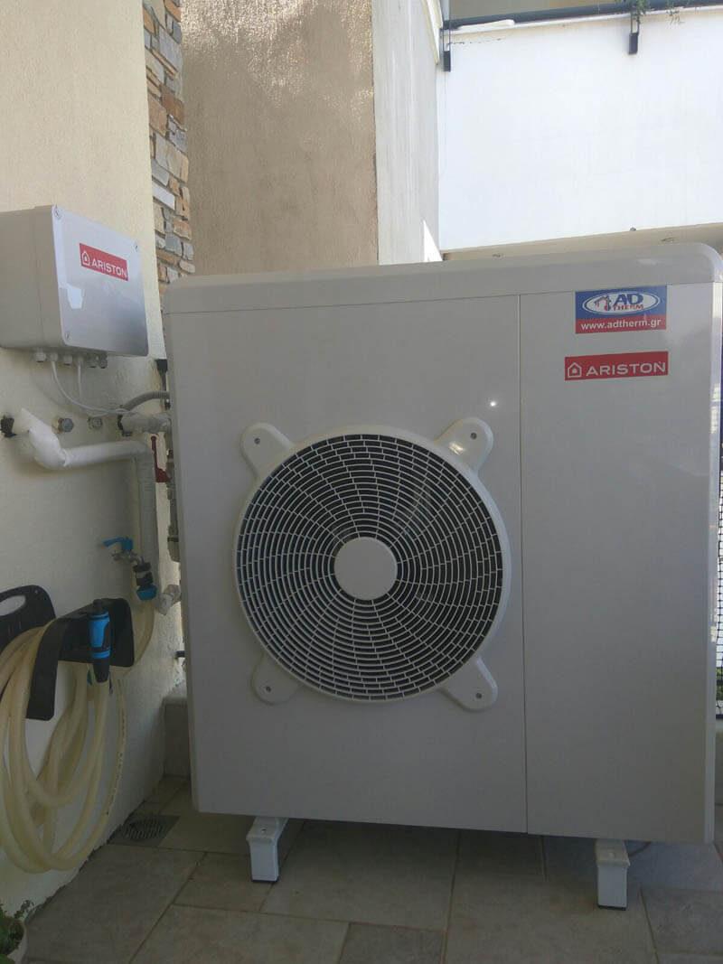 Εγκατάσταση αντλίας θερμότητας 11kw στα πλαίσια του προγράμματος «Εξοικονόμηση κατ' οίκον ΙΙ»